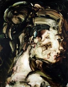 Psyque Abandonada Liv (Oil on canvas 25 X 34 CMS 2014)