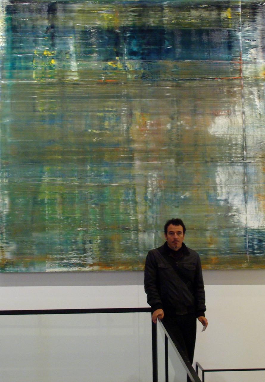 yo en Expo Richter liv