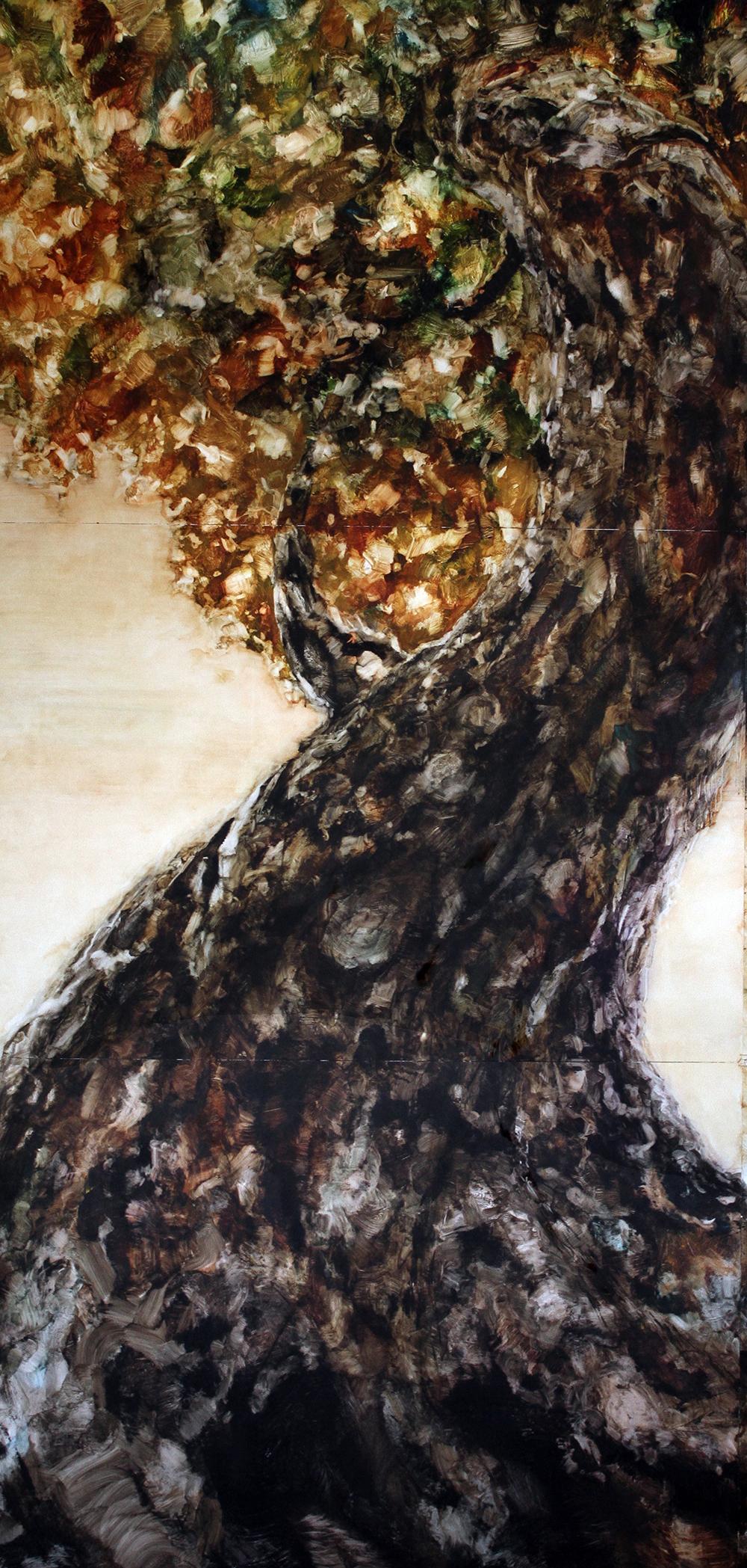 """Arbol Chuchu"" 110 x 231cms 2015"